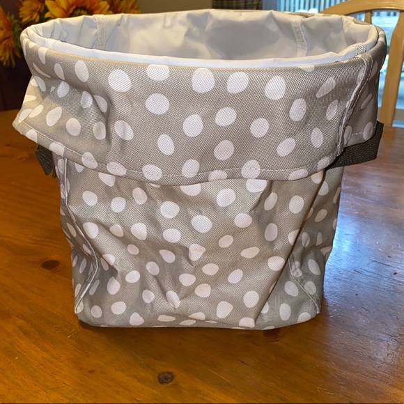 thirty-one Other - Khaki dot mini utility bin